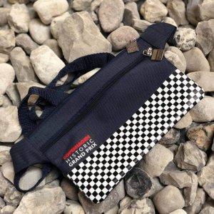 CHGP Bæltetaske blå med tern